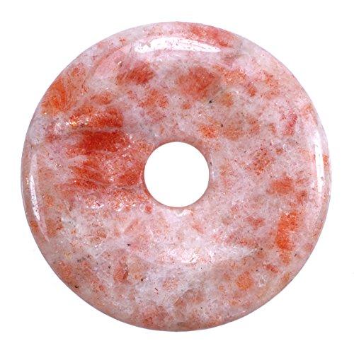 Lebensquelle Plus Sonnenstein Edelstein Donut Ø 40 mm Anhänger